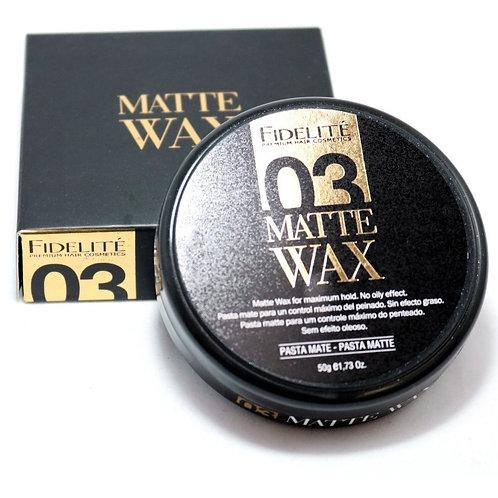 PASTA MATE - 03 - MATTE WAX - 50gr.
