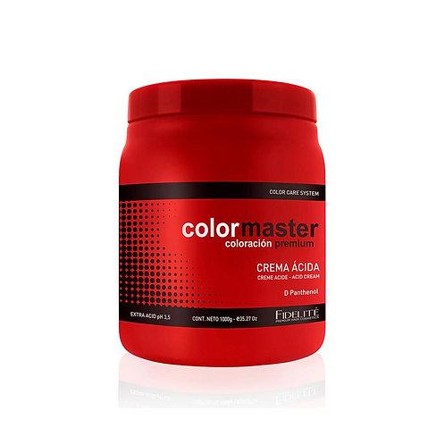 COLOR MASTER - CREMA ACIDA - 1 kg.
