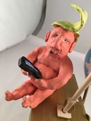 Tweet Kinetic Sculpture (detail 2)
