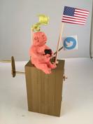 Tweet Kinetic Sculpture (in action)