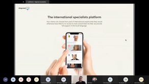 Diagnose.me at Iceland&Slovakia Business webinar