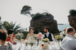 Intimate wedding to the lighthouse