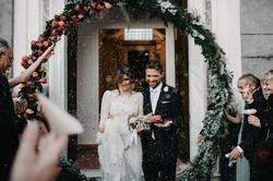 Botanical elegant wedding