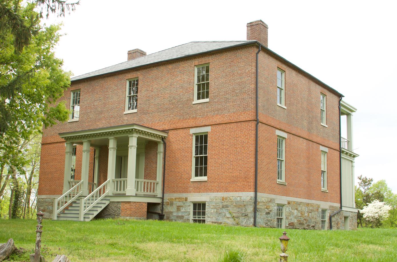 50. Lockwood House front   (Photo by G. Maurice Ballard)