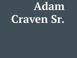 Adam Craven Sr.
