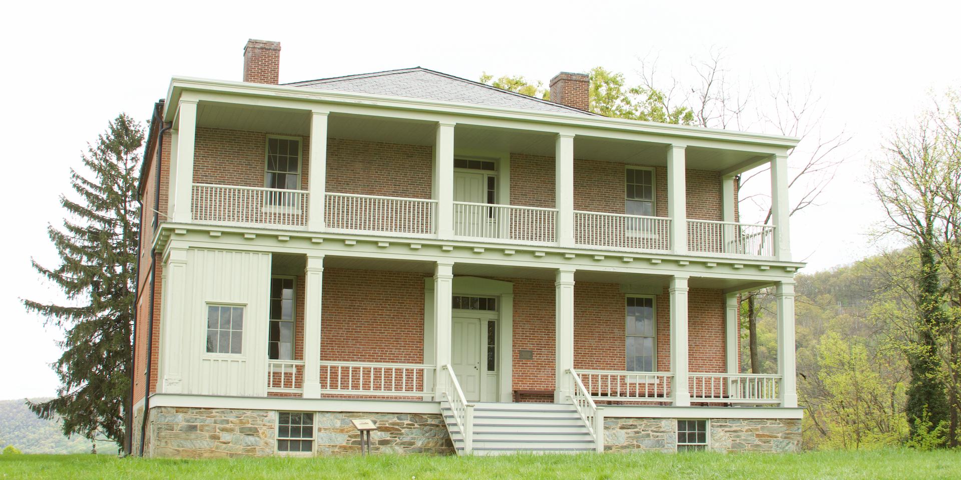 49. Lockwood House entrance   (Photo by G. Maurice Ballard)