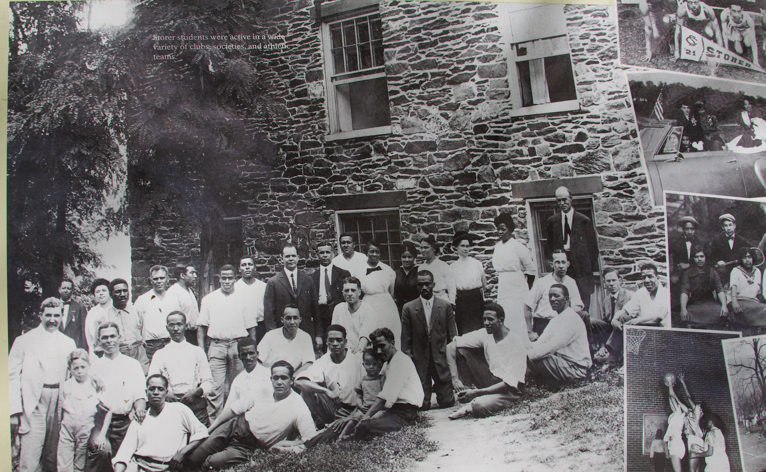 31. Storer College historical marker enlarged to see students.  (Photo by G. Maurice Ballard)