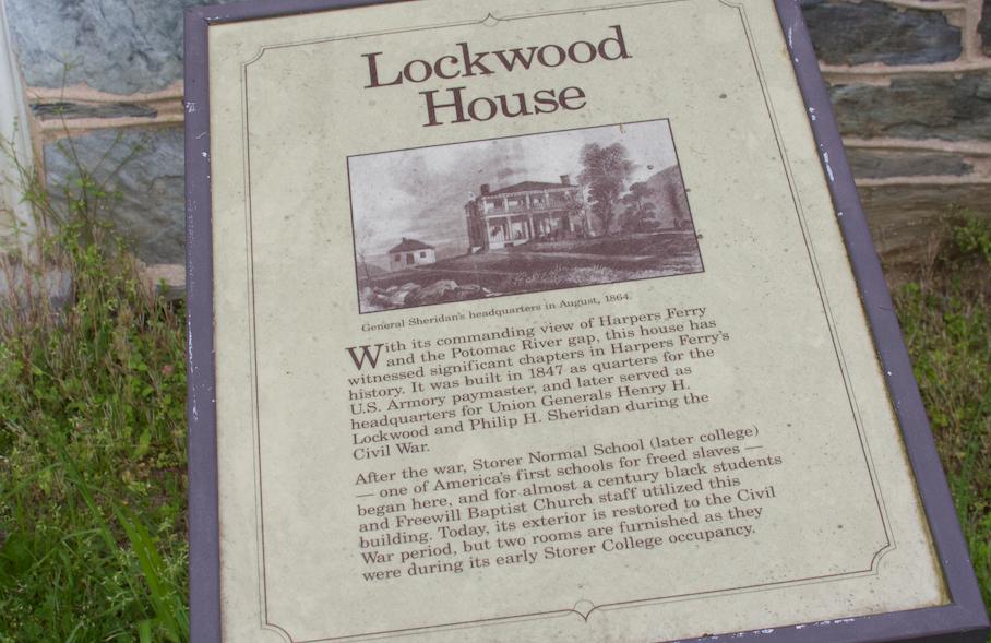 48. Lockwood House marker  (Photo by G. Maurice Ballard)