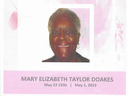 Mary Elizabeth Taylor Doakes