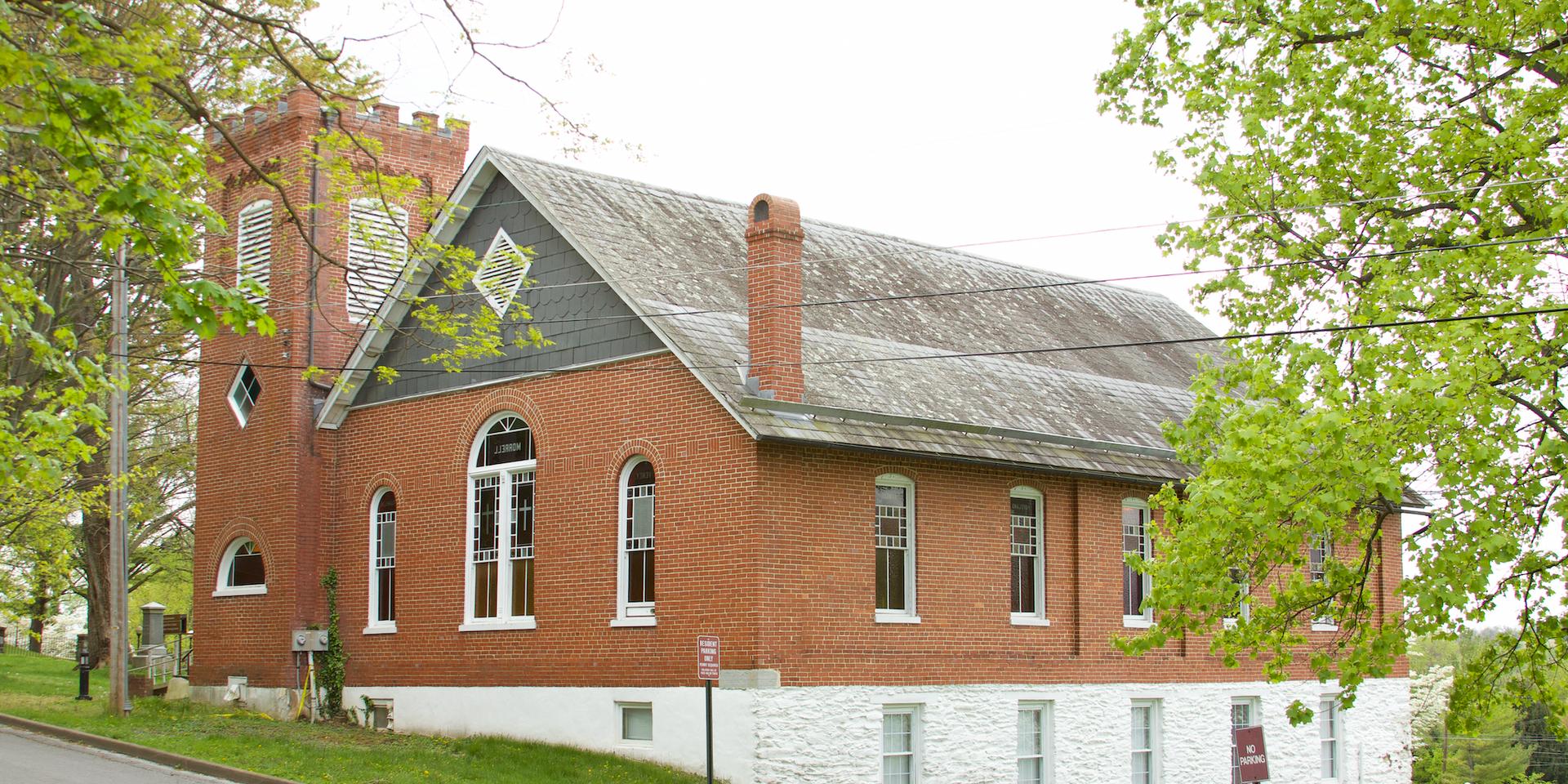 43. Curtis Freewill Baptist Church   (Photo by G. Maurice Ballard)
