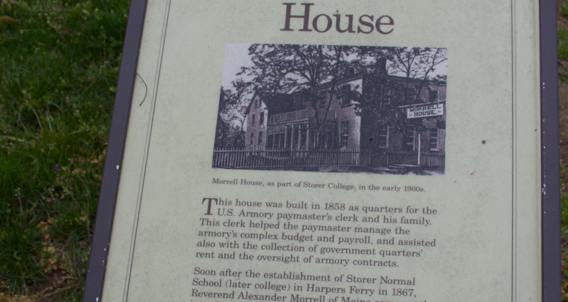 44. Morrell House marker  (Photo by G. Maurice Ballard)