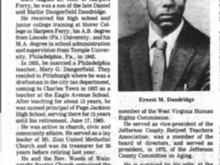 Ernest M. Dandridge, Sr.