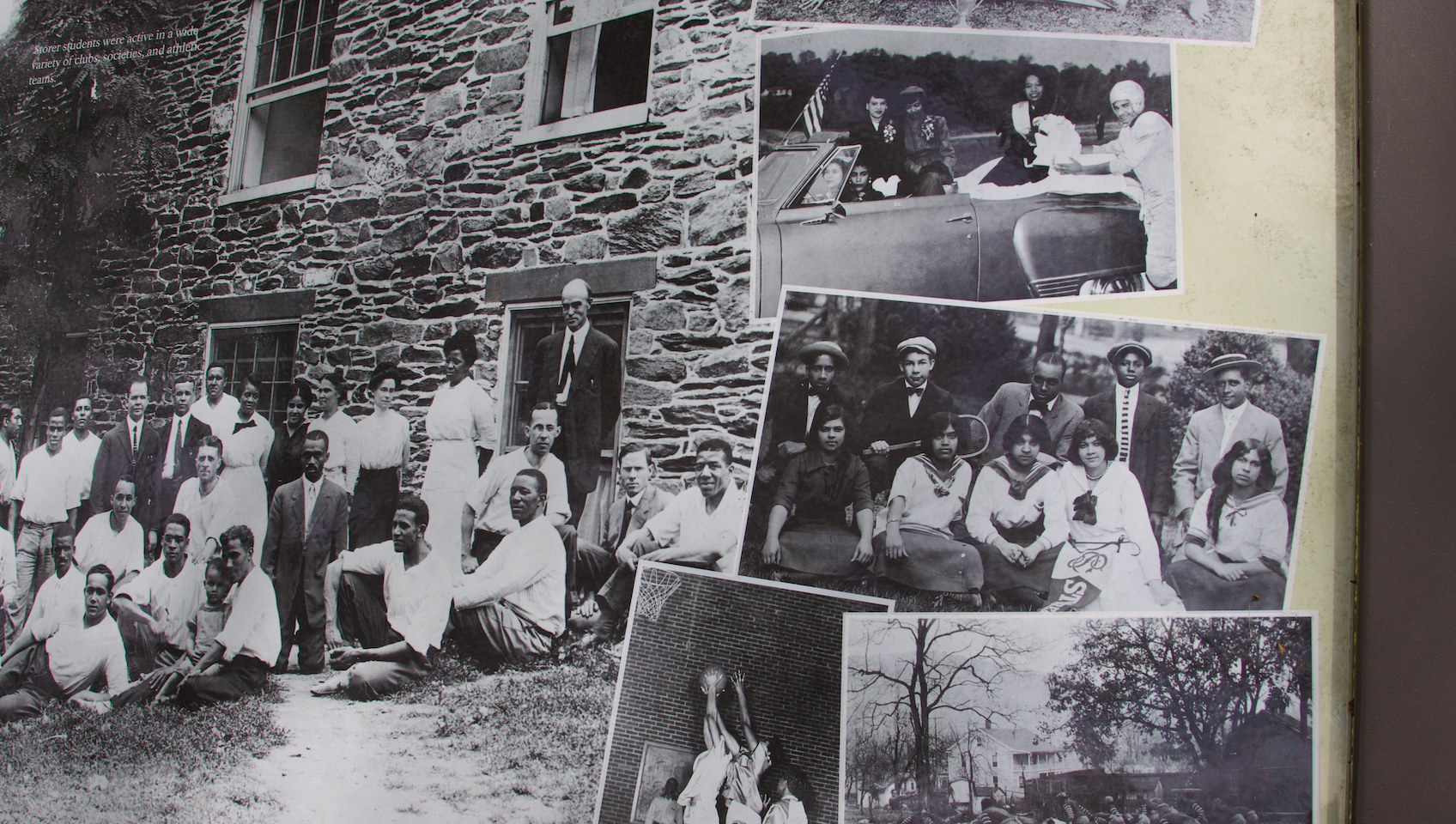 32. Storer College historical marker enlarged to see students  (Photo by G. Maurice Ballard)
