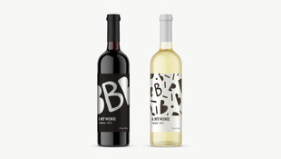 B.My Wine - Label Design