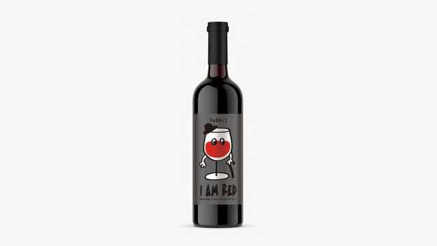I am Red - Label Design