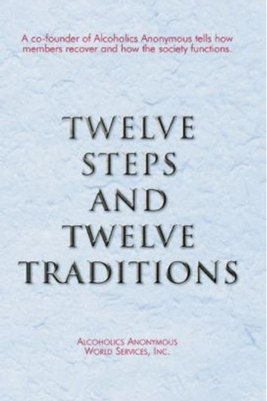 12 Steps & 12 Traditions (Hard Cover)