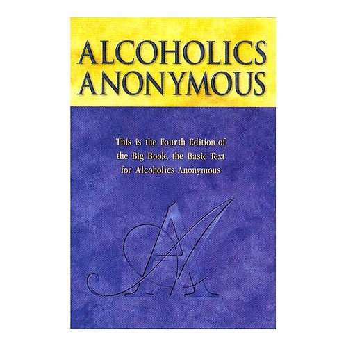 Alcoholics Anonymous (4th Edition) LARGE PRINT