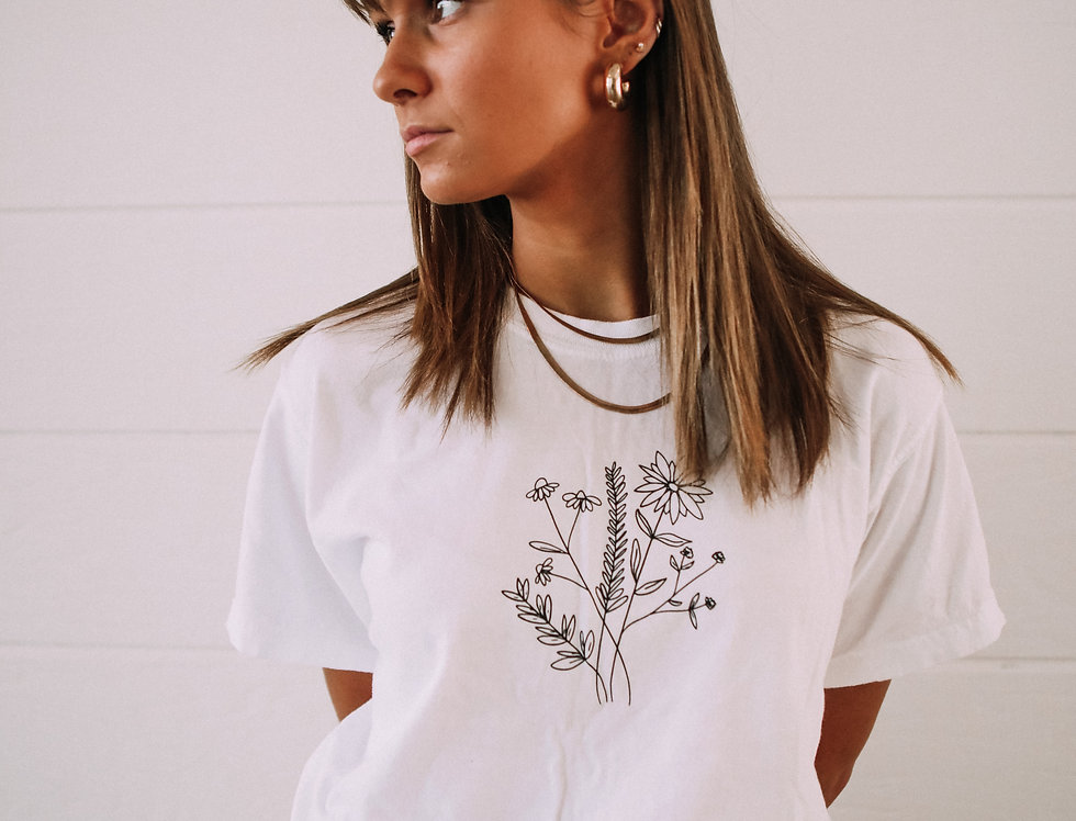 Forget Me Not Tee