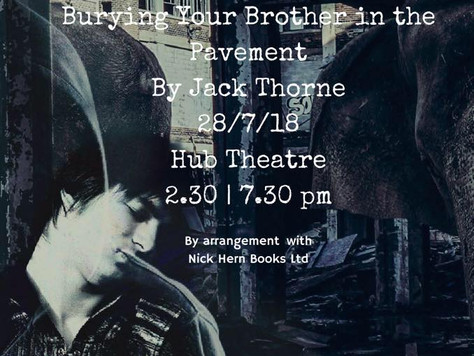 Burying Your Brother In The Pavement - By Jack Thorne