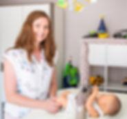 Wickelarm Sicherung Wickeltisch gesichertes Baby