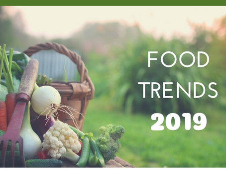 Five Wellness-centered Food Trends to Watch in 2019