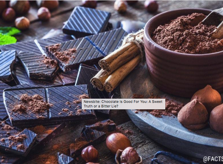 Newsbite: Chocolate Is Good For You: A Sweet Truth or a Bitter Lie?