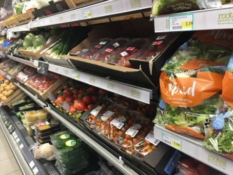 Moving Location of Fruits and Vegetables can lead to 15 percent sales increase