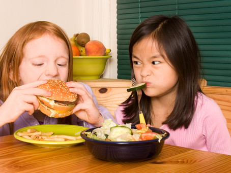 New research shows how children want their food served