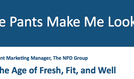 NPD Group: The Meaning of Wellness for Manufacturers or Retailers