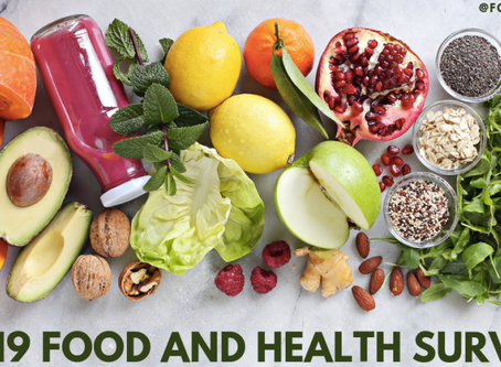The 2019 IFIC Food & Health Survey is Here