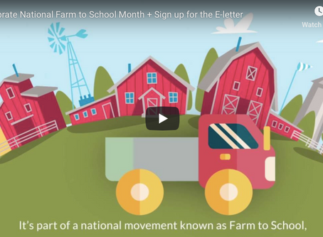 Celebrate National Farm to School
