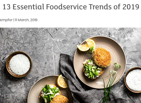 Essential Foodservice Trends for 2019: Most are Wellness Related