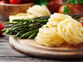 Vegetarian Carbonara with Sherman Farm Asparagus