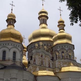 Nhà thờ Chính Thống Giáo tại thủ đô Kyiv, Ukrainia