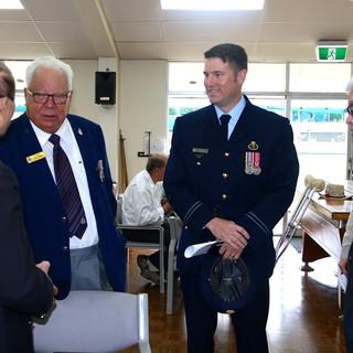 Brisbane, Queensland Australia. Gặp gỡ các cựu chiến binh Úc nhân ngày ANZAC Day