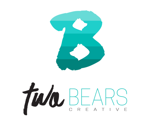 two bears creative logo abbotsford bc freelance graphic designe