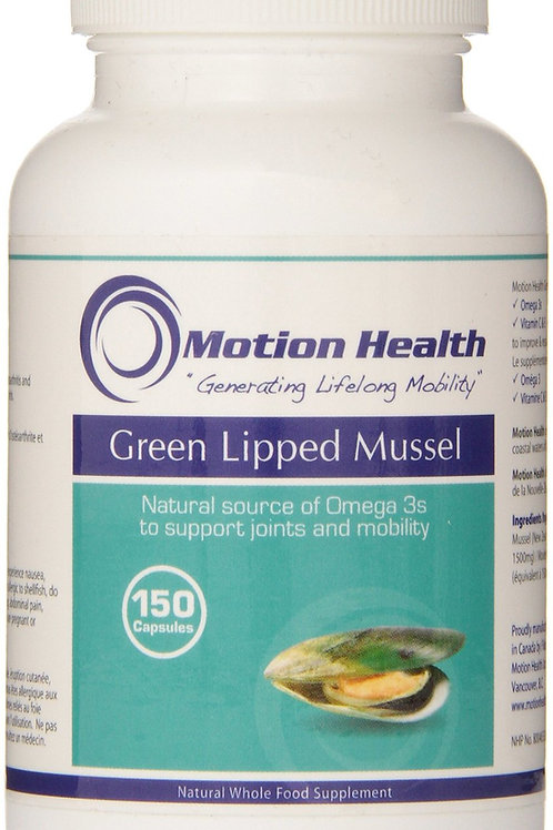 Motion Health - Green Lipped Mussel Capsules