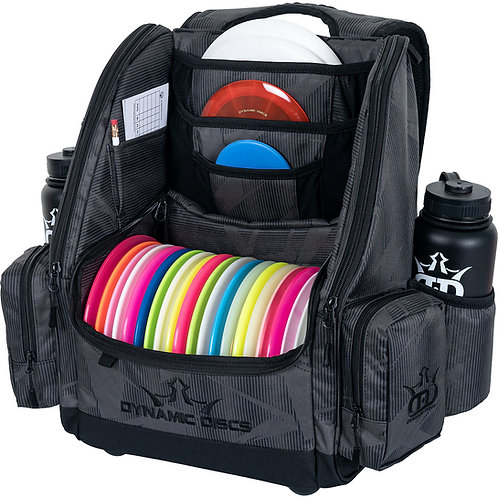 Dynamic Discs Commander Backpack - Graphite Hex