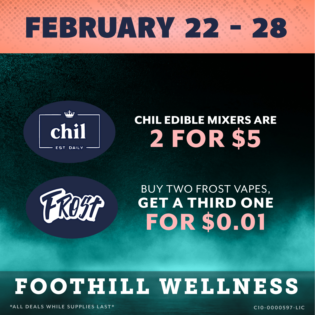 Foothill February 22 - 28 Flyer