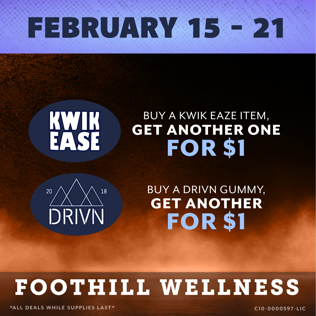 Foothill February 15 - 21 Flyer