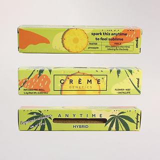 Crème Tropical Pineapple Cone