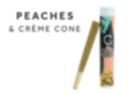 Peaches & Crème Cone