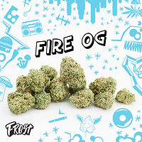 Frost Fire OG Flower Image