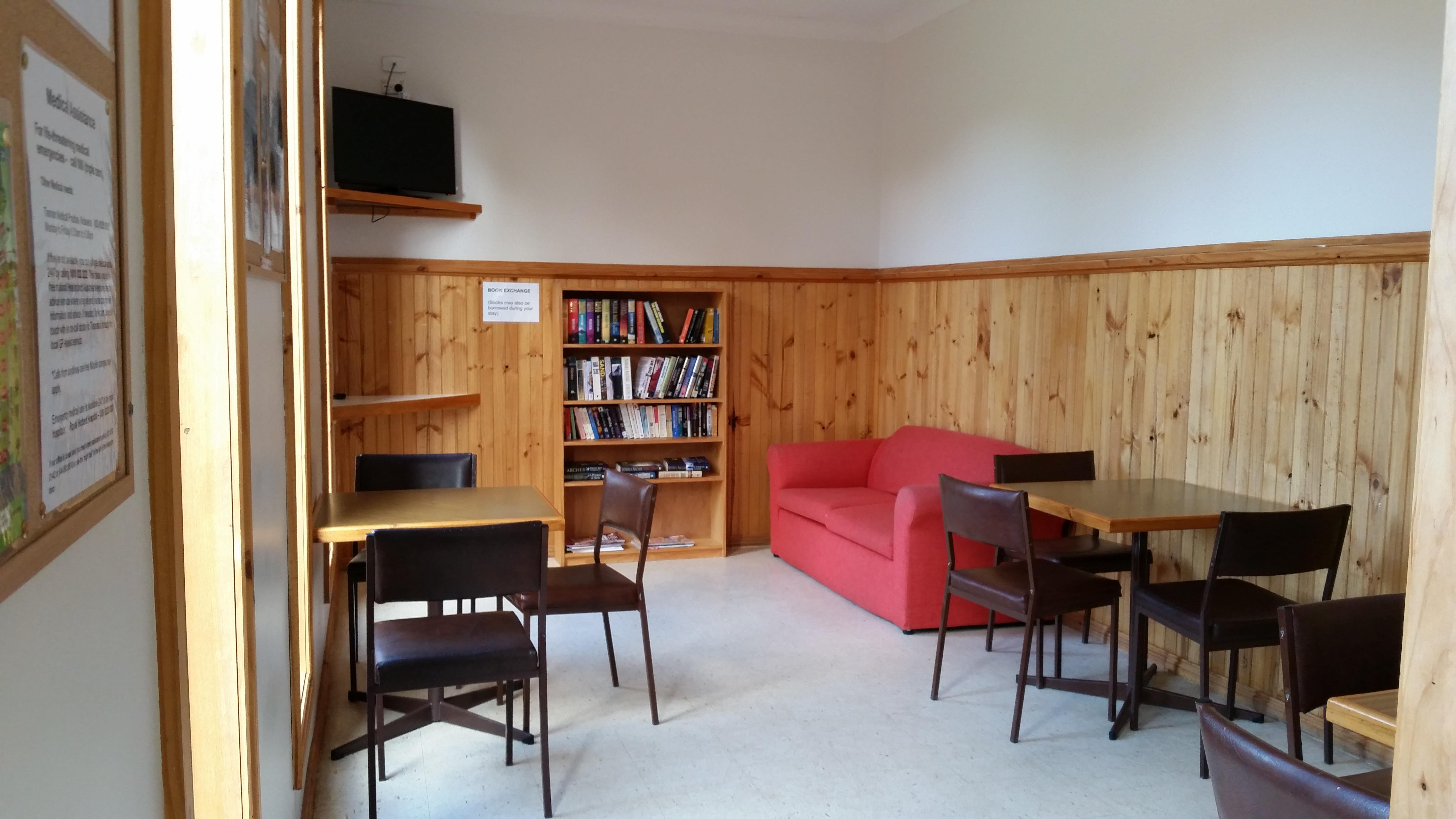 Camp dining room