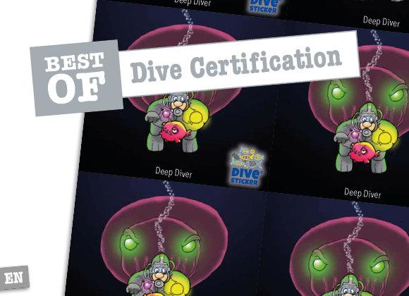 Dive Certification   14-24 – Comic Edition