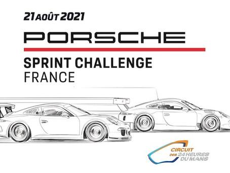 60 Porsche en ouverture des 24 Heures du Mans pour le Porsche Sprint Challenge France !