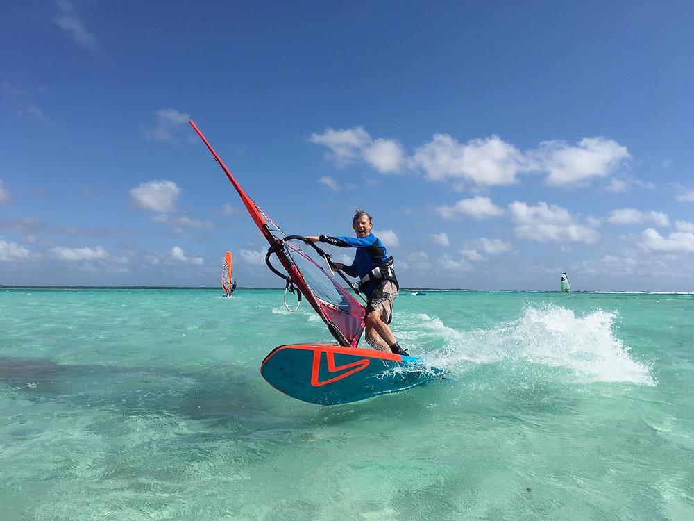 Bonaire 2019 - Photoshoot fun with Phil