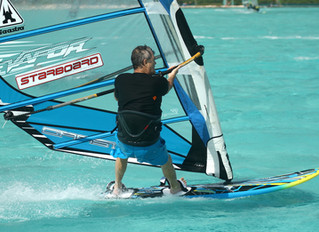 Windsurfing in Bonaire, Christmas and 2015