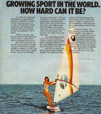 How I Got Windsurfing (Eventually)