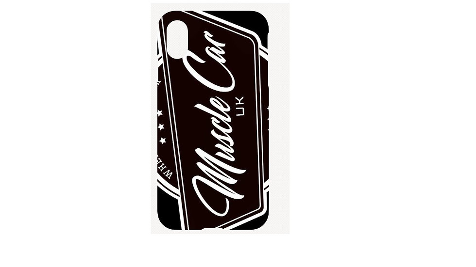 Muscle Car UK Phone Case Iphone X
